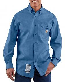 Carhartt Flame Resistant Chambray Work Shirt - Big & Tall