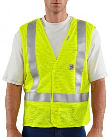 Carhartt Flame Resistant Hi-Visibilty Breakaway Vest - Big & Tall