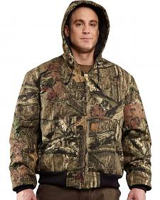 Carhartt Quilted-Flannel-Lined Active Jacket - Big & Tall