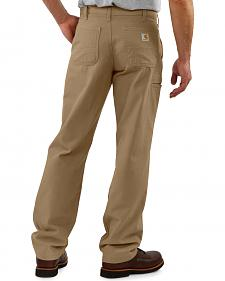 Carhartt Khaki Canvas Work Pants