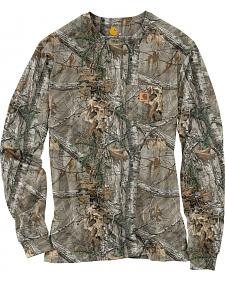 Carhartt Realtree Xtra® Camo Long Sleeve T-Shirt - Big & Tall