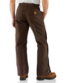Carhartt Sandstone Quilt Lined Work Pants