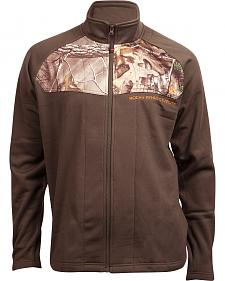 Rocky Men's Full-Zip Realtree Camo Fleece Jacket