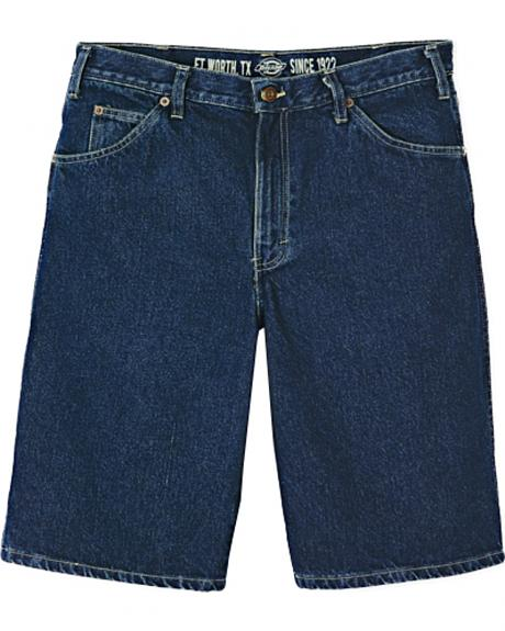 Dickies 6 Pocket Regular Fit Denim Shorts
