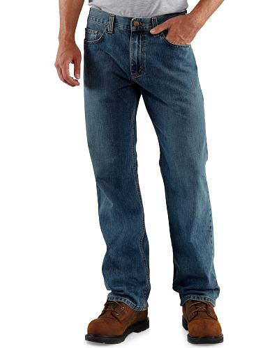 Carhartt Loose Fit Straight Leg Work Jeans Western & Country B325-WRB