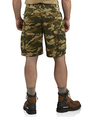 Carhartt Rugged Cargo Camo Shorts