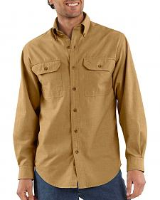 Carhartt Fort Long Sleeve Work Shirt - Big & Tall