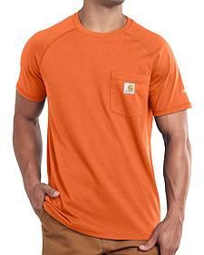 Carhartt Force Cotton Short Sleeve Work Shirt - Big & Tall