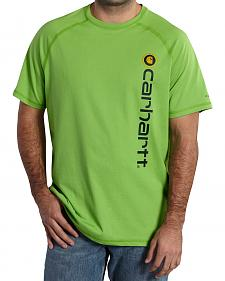 Carhartt Force Delmont Short Sleeve Shirt - Big & Tall