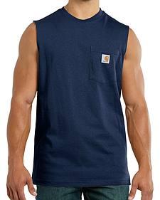 Carhartt Workwear Pocket Sleeveless Shirt - Big & Tall