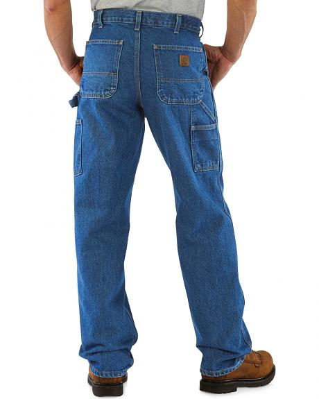 Carhartt Signature Denim Work Dungaree Jeans