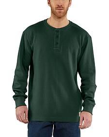 Carhartt Textured Knit Henley Long Sleeve Shirt