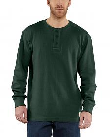 Carhartt Textured Knit Henley Long Sleeve Shirt - Big & Tall