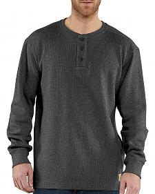 Carhartt Textured Knit Henley Long Sleeve Shirt - Big & Tall