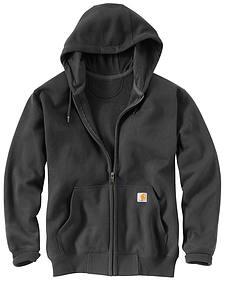 Carhartt Rain Defender Paxton Heavyweight Zip Front Hooded Sweatshirt