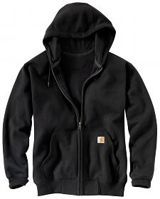 Carhartt Rain Defender Paxton Heavyweight Zip Front Hooded Sweatshirt