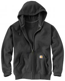 Carhartt Rain Defender Paxton Zip Front Hooded Sweatshirt - Big & Tall
