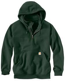 Carhartt Rain Defender Paxton Hooded Zip Mock Sweatshirt