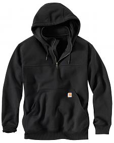 Carhartt Rain Defender Paxton Hooded Zip Mock Sweatshirt