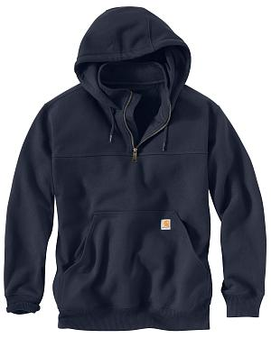 Carhartt Rain Defender Paxton Hooded Zip Mock Sweatshirt - Big & Tall