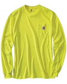 Carhartt Force Color-Enhanced Long Sleeve T-Shirt - Big & Tall