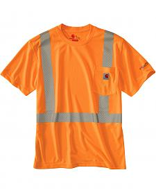 Carhartt Force High-Viz Short Sleeve Class 2 T-Shirt - Big & Tall