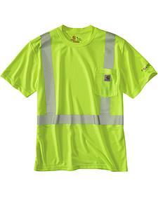 Carhartt Force High-Viz Short Sleeve Class 2 T-Shirt - Big & Tall