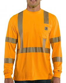 Carhartt Force High-Visibilty Class 3 Long Sleeve T-Shirt
