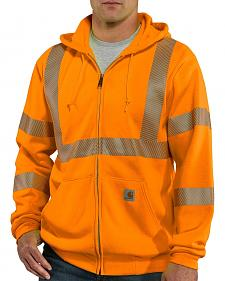 Carhartt High-Visibility Class 3 Thermal Lined Sweatshirt - Big & Tall