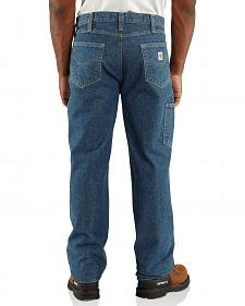 Carhartt Flame Resistant Relaxed Fit Utility Double-Front Jeans - Big & Tall