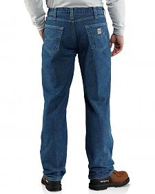 Carhartt Flame Resistant Relaxed Fit Brushed Lining Jeans - Big & Tall