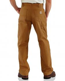 Carhartt Flame Resistant Duck Work Dungaree Pants - Big & Tall