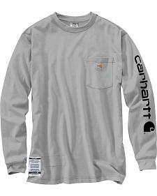 Carhartt Flame Resistant Force Cotton Graphic Long Sleeve Shirt