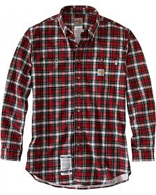 Carhartt Flame Resistant Classic Plaid Shirt - Big & Tall