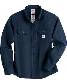 Carhartt Flame Resistant Twill Long Sleeve Top