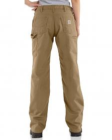 "Carhartt Flame Resistant Canvas Work Pants - 30"" Inseam"