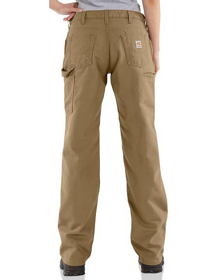 Carhartt Flame Resistant Canvas Work Pants - 30