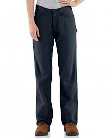 "Carhartt Flame Resistant Canvas Work Pants - 32"" Inseam"