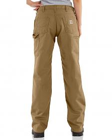 "Carhartt Flame Resistant Canvas Work Pants - 34"" Inseam"