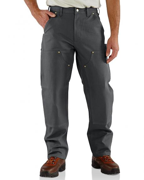 Carhartt Firm Duck Double-Front Work Dungaree Pants