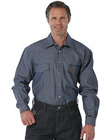 Cinch WRX Flame-Resistant Denim Work Shirt