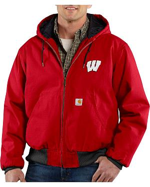 Carhartt University of Wisconsin Badgers Sandstone Active Jacket