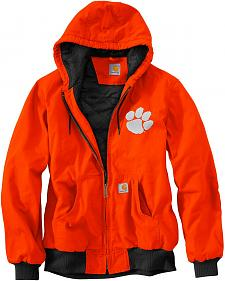 Carhartt Clemson University Tigers Sandstone Active Jacket
