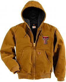 Carhartt Texas Tech Red Raiders Sandstone Active Jacket