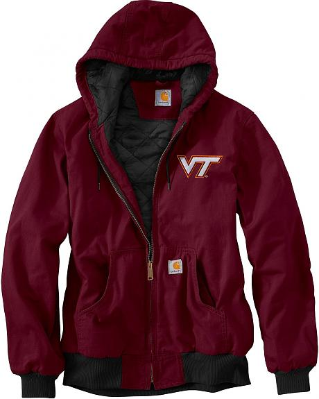 Carhartt Virginia Tech Hokies Sandstone Active Jacket