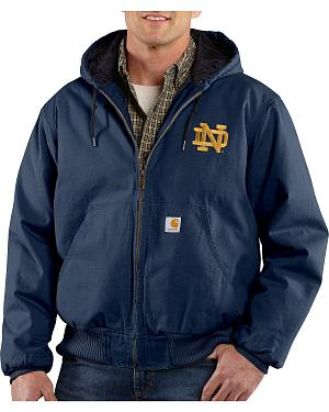 Carhartt University of Notre Dame Fighting Irish Sandstone Active Jacket