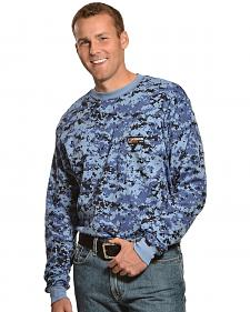Cinch WRX Flame-Resistant Long Sleeve Camo T-Shirt