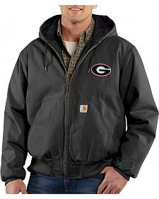 Carhartt University of Georgia Bulldogs Sandstone Active Jacket - Tall
