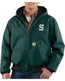 Carhartt Michigan State University Spartans Sandstone Active Jacket - Tall