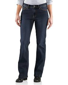 Carhartt Women's Original Fit Dark Indigo Jasper Jeans